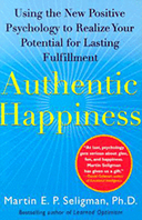 Bookcover: Authentic Happiness: Using the New Positive Psychology to Realize Your Potential for Lasting Fulfillment